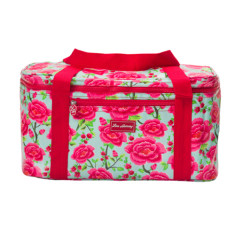 Insulated family cooler bag in Alexandra sage print