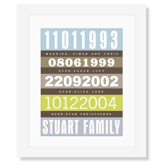 Family bus scroll (4 dates)