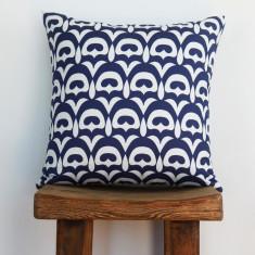 Boheme fandang navy cushion