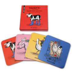 Set of 4 Coasters: Moveable Feast