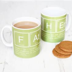 Elements of a father mug