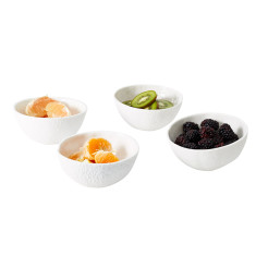 Areaware stone fruit bowls set of four