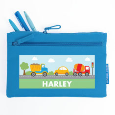 Personalised Transport Pencil Case