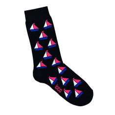 Loco sailing boat socks (various colours)