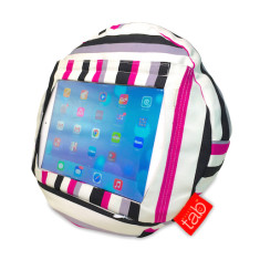 HAPPYtab iPad Cushion in Cosmo Stripe