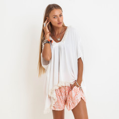 Avery Penida Top Off White
