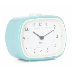 Lisbet SILENT SWEEP alarm clock (various colours) by Toki