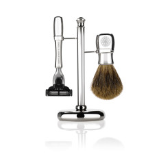 Mayfair Shaving Set - Chrome