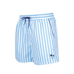 Boy's Classic Cut Swim Shorts - Marine Blue