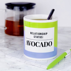 Relationship Status Avocado Mug