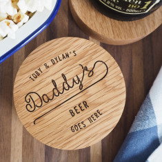 Personalised Bottle Opener Coaster