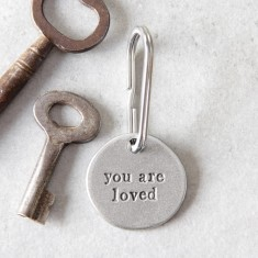You Are Loved Key Ring