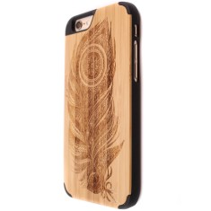 Featherwood bamboo iPhone 6/6S case