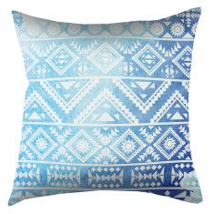 Indoor Cushion Boho Aqua