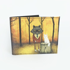 Forever fellow artist print wallet