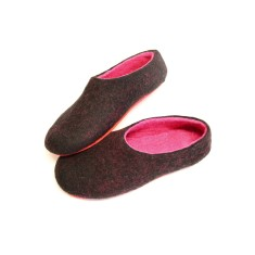 Women's Wool Shoes Raspberry