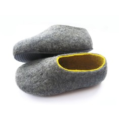 Women's Pebbles Handmade Felt Slippers