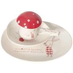Bunny Honey Melamine Set (6 parts)