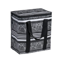 Insulated picnic bag in Stripe print