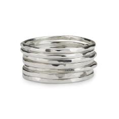 Skinny stackable rings (set of 7)