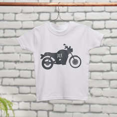 Personalised Childrens Motorbike T Shirt