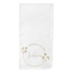 Dinner With The… Personalised Napkin
