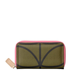 etc by Orla Kiely big zip wallet