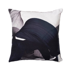 Adrian cushion cover in charcoal