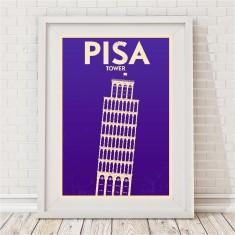 Vintage City Print - Pisa