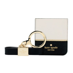 Kate Spade New York Bow Keychain Cable with Lightning Connector & Card Holder Set
