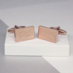 Personalised Engraved Zodiac Cufflinks