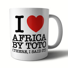 Guilty Pleasures Mug: I Heart Africa by Toto