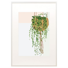 String of pearls print
