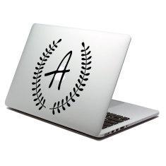 Monogram Laptop Decal