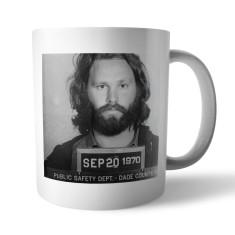 Mugshot mug: Jim Morrison