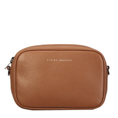 Plunder leather bag in tan