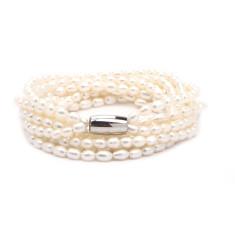Freshwater pearl bracelet or necklet