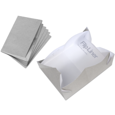 FLIP paperboard liners 6 pack