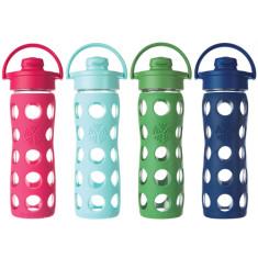 Lifefactory 16oz Flip Top Glass Bottles