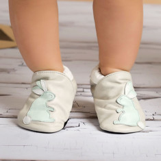 Cheeky Flopsy Bunny baby shoes