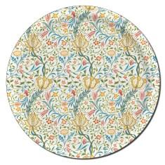 Flora round tray