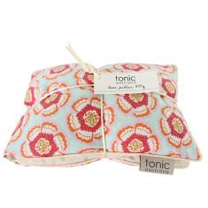 Flora pink heat pillow