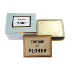Tinture de Flores ceramic box candle