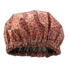 Flower berry luxury shower cap