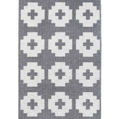 Brita Sweden flower door mat (black, stone, lagoon or sun)