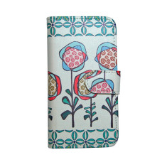 Flowers wallet style iPhone case