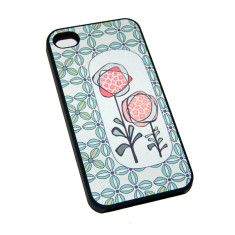 Flowers printed iPhone case