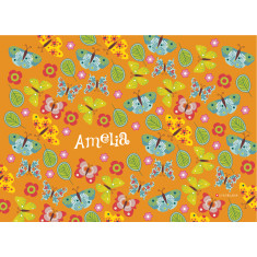 Fluttering by personalised placemat