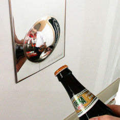 Suck UK fridge magnet bottle opener