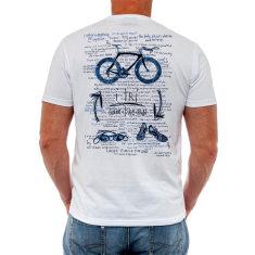 I tri men's t-shirt in white